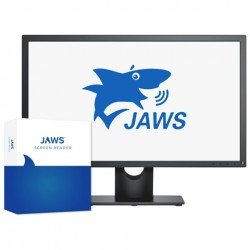 JAWS Screen Reading Software Professional Edition (Includes next 2 version upgrades)
